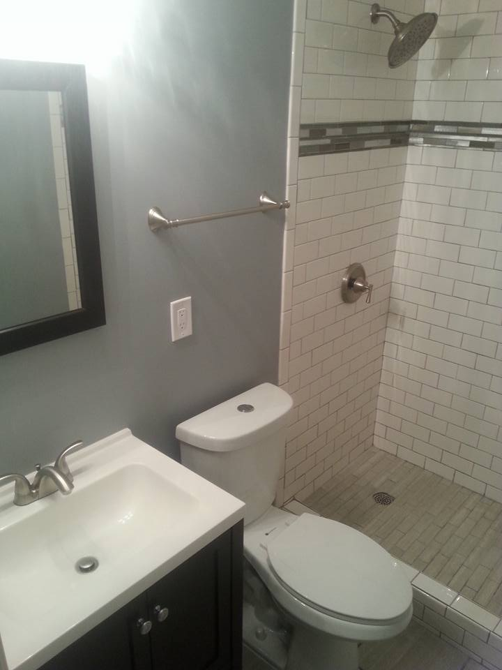 Bathroom remodeling flater builders for Local bathroom remodelers